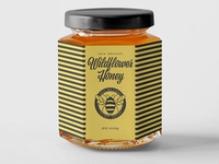 Busy Bee Farms packaging design