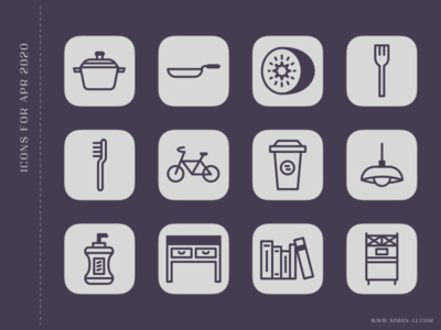 Icons   Apr 2020 freebie download vector icons