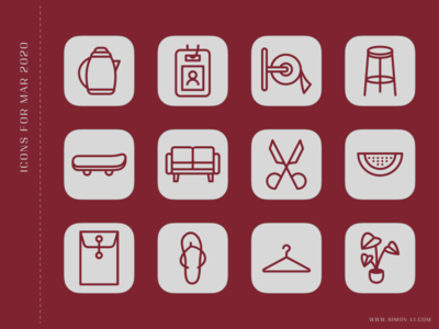 Icons (Mar 2020) icons vector download freebie