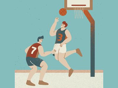 Basketball game player court basketball