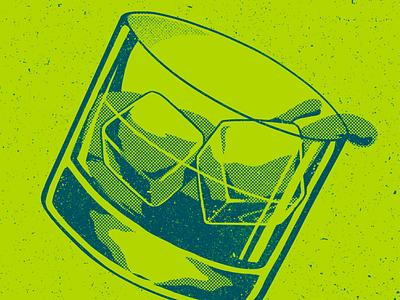 Whisky illustrations halftone photoshop shirtdesign whisky design illustration