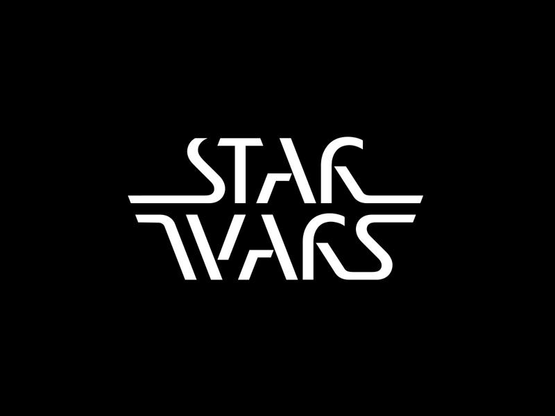 Star Wars star wars logotype logo