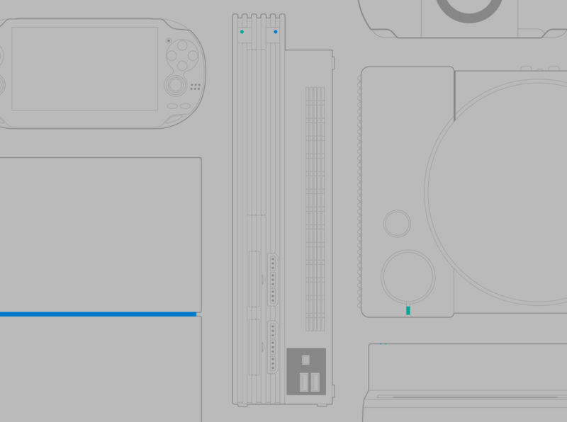 #25YearsOfPlay Wallpaper illustration games vector video games wallpaper playstation