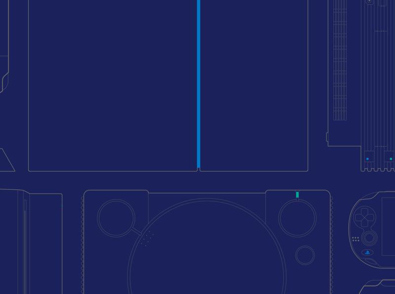 #25YearsOfPlay Wallpaper video games playstation wallpaper games vector illustration