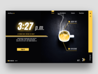 Design of Sports Beverage Web Page