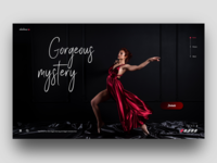 Gorgeous mystery web design