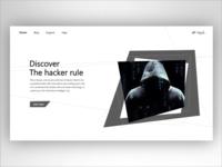 Hacker web design