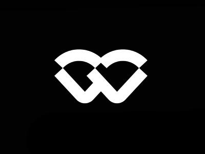 Identity Design concept for Blake-Wilder Companies vector branding minimalist madebyescs futuristic monochromatic black  white bold logo bw branding design icon design logos logo mark identity design