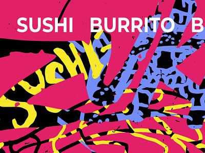 "THE LATEST: Zukku ""Mural Vibe/Idea"" illustration tampa design art direction digital art mural design"