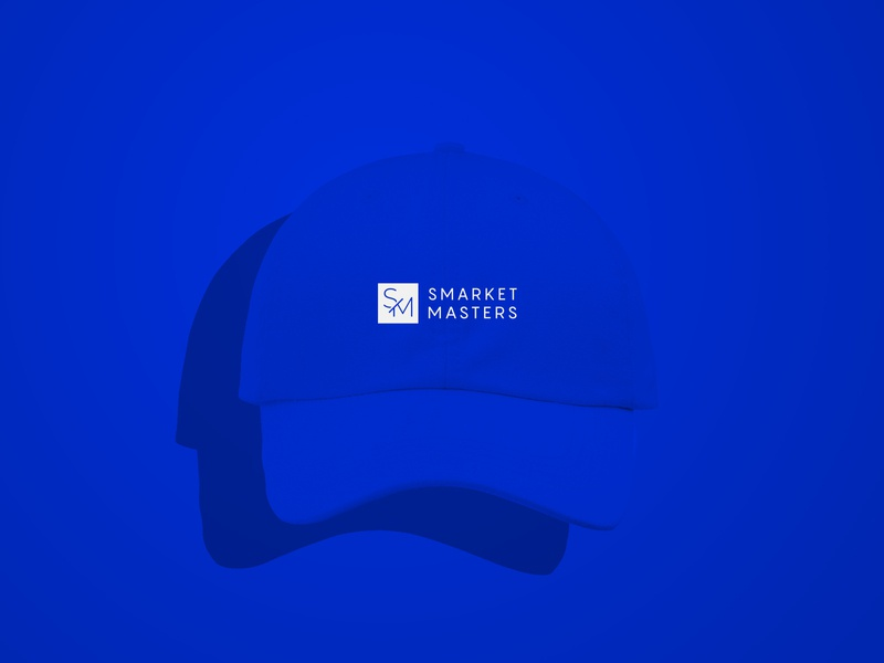Smarket Masters   Identity & Logo Design tampa design agency marketing agency sm logo marketing icon minimalist clean branding creative studio design brand logo