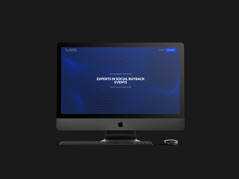 Smarket Masters   Website Design web clean minimalist branding design studio marketing agency design brand logo ux ui