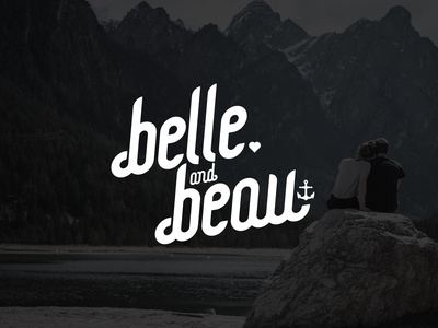Belle and Beau script mark