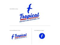 Tropical Heating & Air Solutions logo