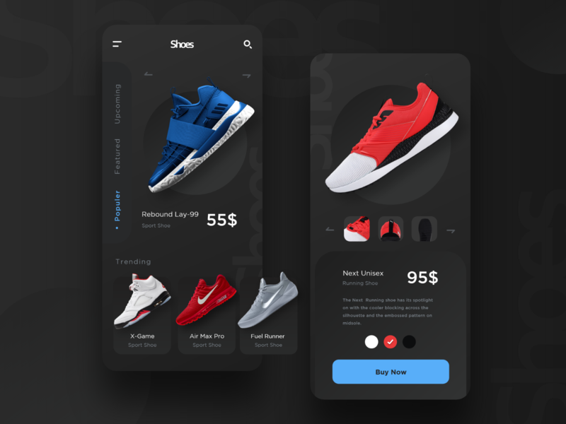 Shoe App android app android dribbble dailyui apps screen apps design ui design uiux mobile ui uidesign mobile app ui shopping shop shopping app shoebox shoes store shoes app shoes shoe