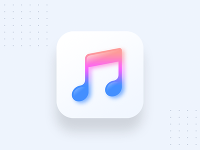 Music Player ui design uiux ux ui icon design logo design music player logo logo icon app icon music player
