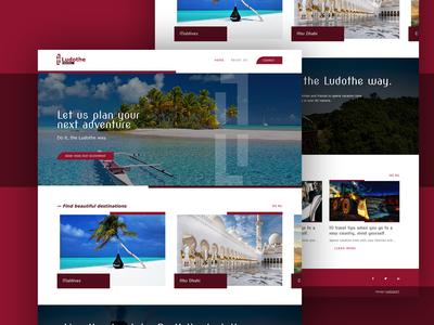 Ludothe Travel Website