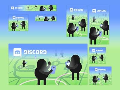 Discord x Pokemon Go Ads discord pokemon go ads design ads