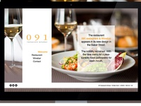WEB DESIGN   Intern school project 2014  091 Restaurant