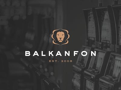 Balkanfon casino games casinos corporate branding logotype illustration branding identity corporate identity branding design typography logo design logo design branding