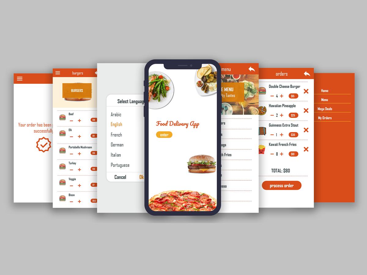 Food App food delivery hotel food restaurant