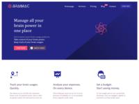 Brainiac showcase website