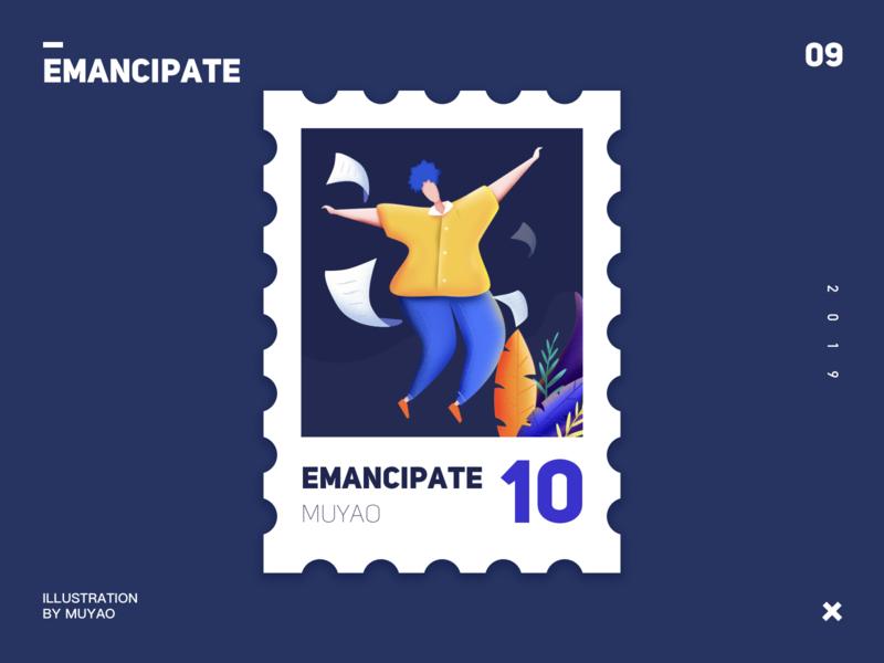 emancipate people work ui design illustration