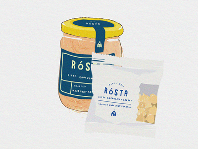 Rosta Illustrations color illustration draw