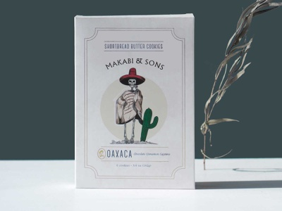 Makabi&Sons / Oaxaca quotes cookie spanish typography art branding packaging icon design illustration