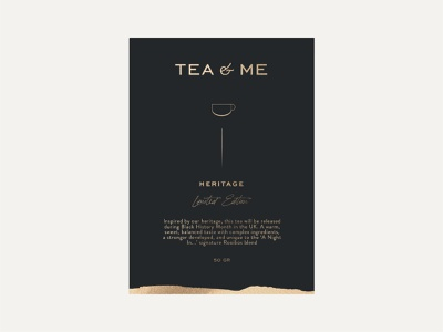 Tea&Me packagingdesign packaging branding typography illustration label natural tea