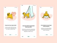 DogGo - Onboarding concept intro mobile illustration onboarding ui onboarding uidesign app ui design