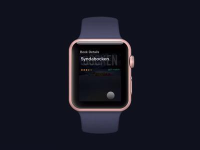 Librifox Audio Book App Concept - Watchapp