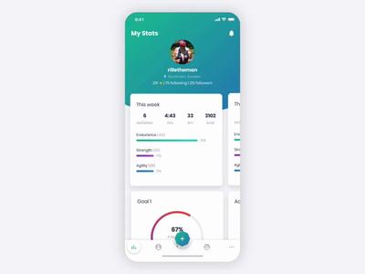 MoveStreak - Tab Navigation