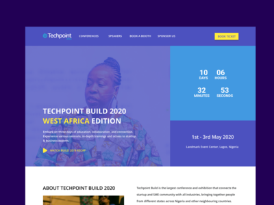Techpoint Build home page