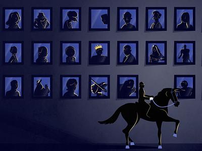 Horseman paintings flatdesign vectordesign vector flat rider horserider horseman horse equitation riding equestrian art people character design illustration graphic design