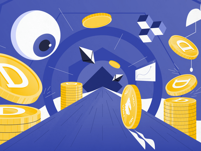 Geometric game abstract eye coins money vector flat minimal crypto tokens simple geometry geometric isometric art character design illustration graphic design
