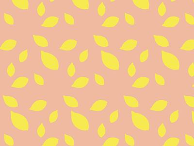 Pink Lemons graphicdesign illustration design patterns illustration