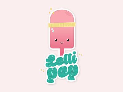 Lollipop vector design sticker logodesign graphicdesign illustration