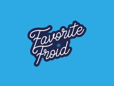 Logo design Favorite Froid vector branding logodesign logo