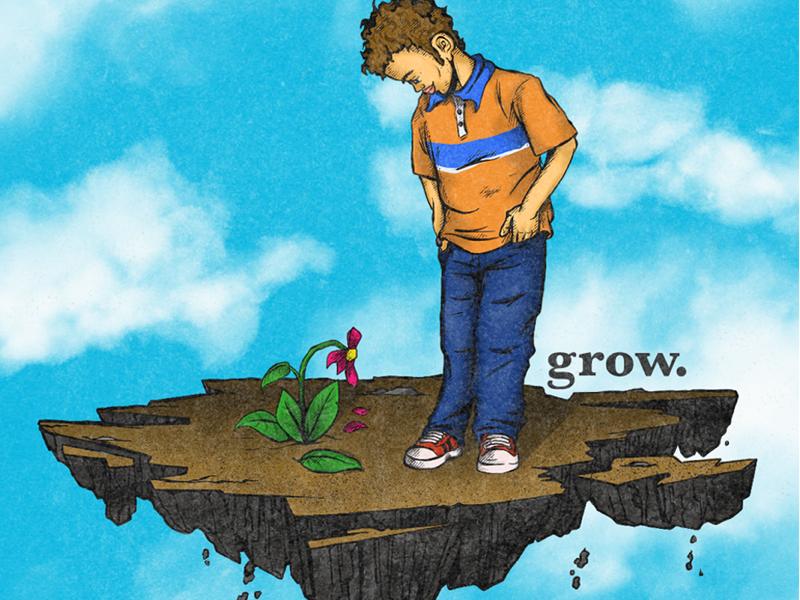 grow. sketch childrens illustration kids lit art illo illustration