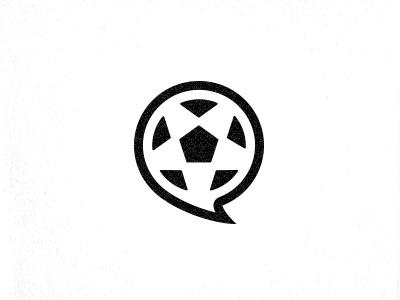 Wemblegg - Logo brand logos soccer identity logo branding moschi black and white logotype chat football social