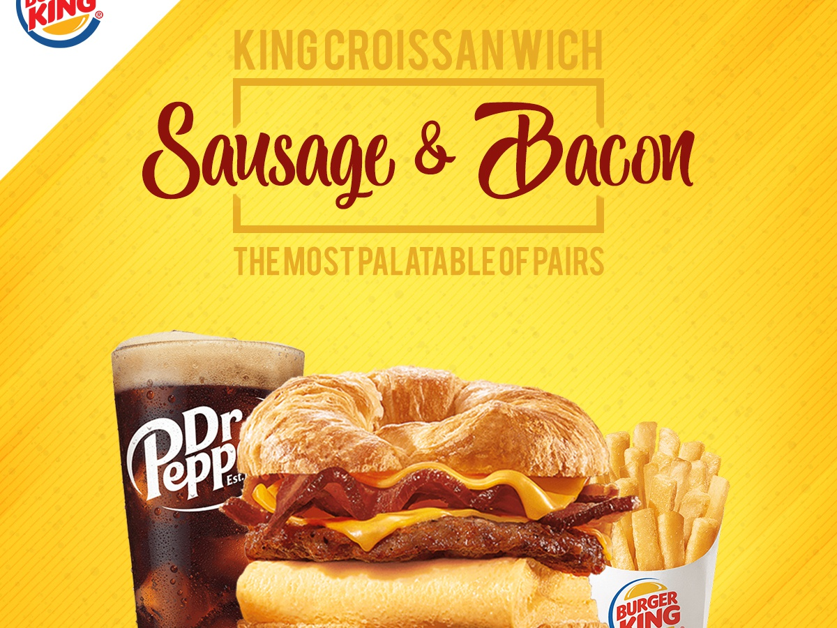 Burger King Social Media Psd Template 03 By Sheikh Saddam On Dribbble