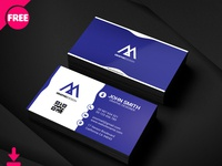 Smith Corporate Business Card Psd Template Cover