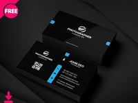 Free Personal Business Card Psd Template Cover