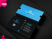 Free Morden Graphic Designer Busines Card