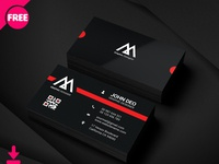 Sample Graphic Designer Business Card