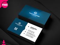 Simple Graphic Designer Busines Card