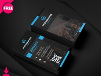 Photography Business Card Psd Template Cover