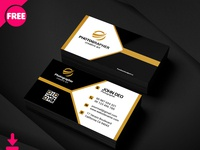 Free Sample Photography Business Card Psd Template Cover