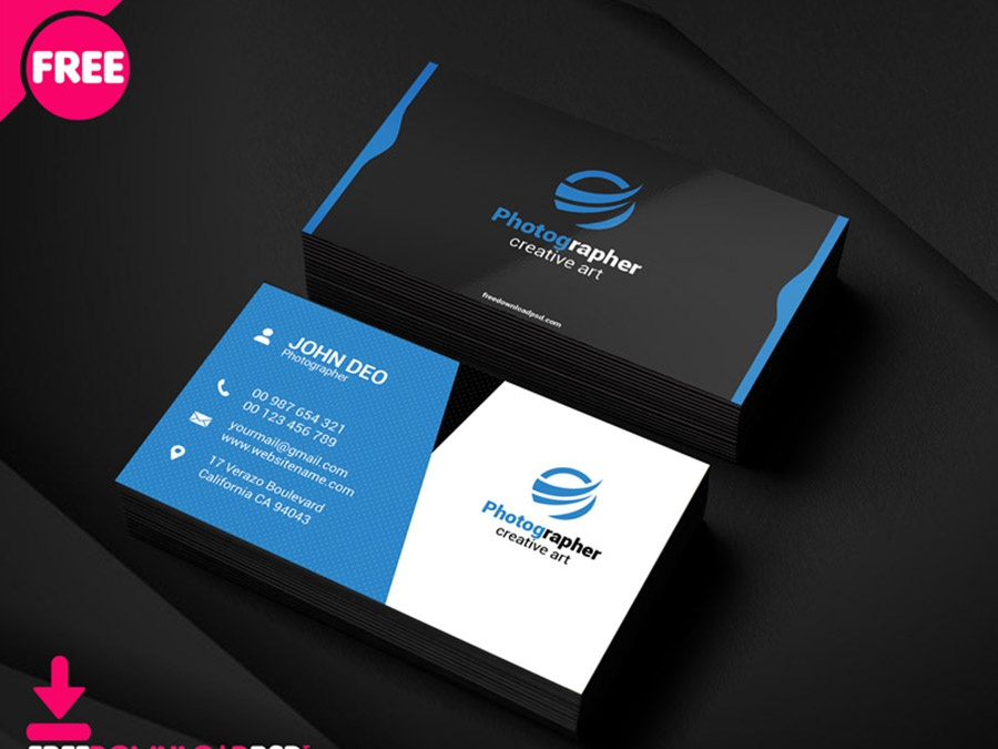 Personal Photography Business Card visiting card clean business card plane business card creative business card simple business card photography business card corporate business card business car