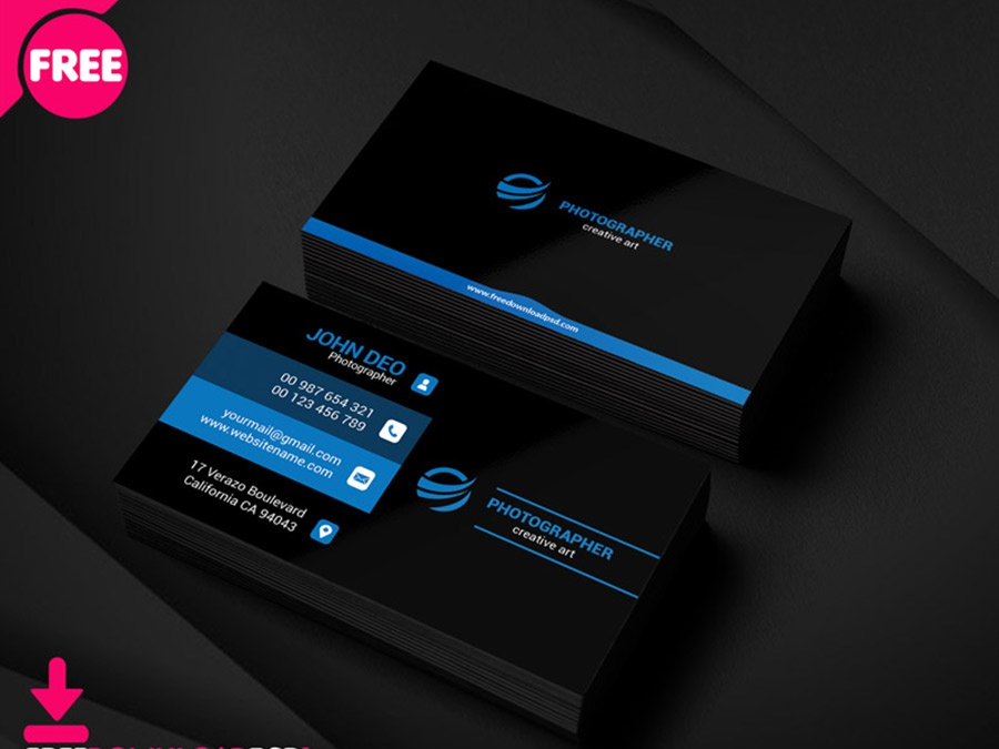 Free Photography Business Card visiting card graphic design business card simple business card clean business card creative business card photography business card corporate business card business card